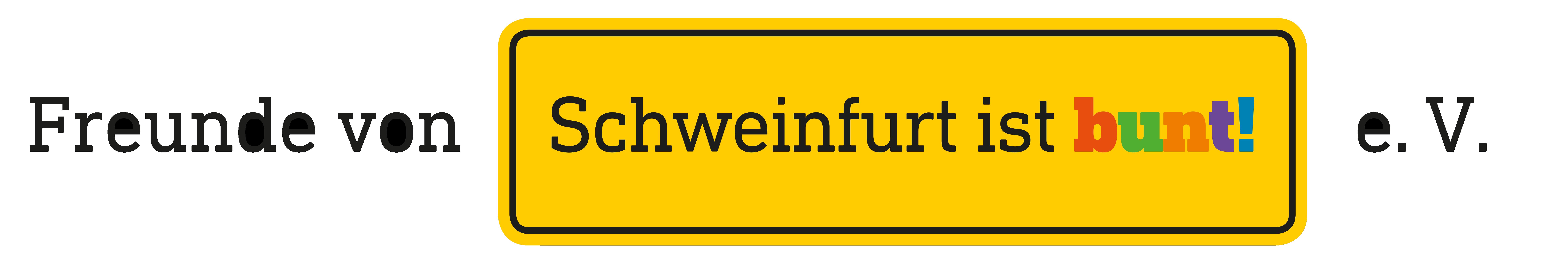 Freunde von Schweinfurt ist bunt e.V.